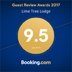 Booking.com - Guest Review Awards 2017 - 9.5/10